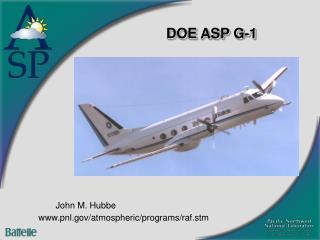 DOE ASP G-1