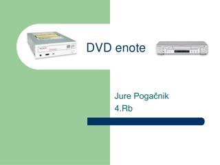 DVD enote