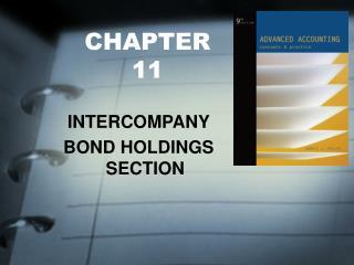 INTERCOMPANY BOND HOLDINGS SECTION