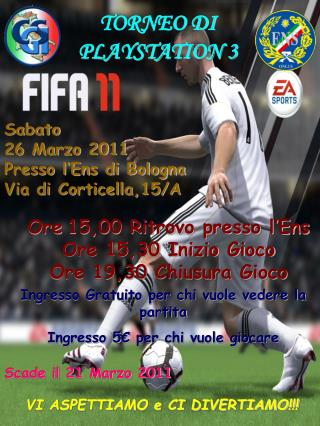TORNEO DI  PLAYSTATION 3