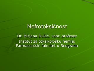 N efrotoksi čnost