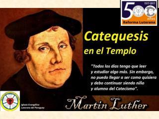 «Cuando la escuela progresa, todo progresa». Martín Lutero.