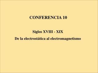CONFERENCIA 10