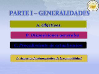 PARTE I   GENERALIDADES