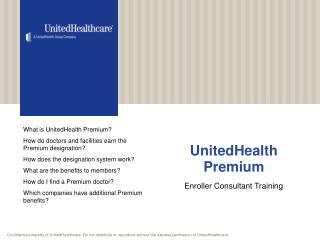 UnitedHealth Premium