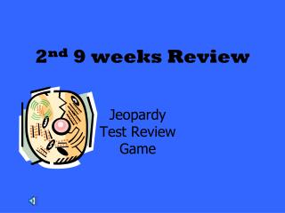 2 nd  9 weeks Review
