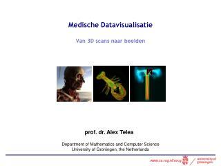 Medische Datavisualisatie Van 3D scans  naar beelden