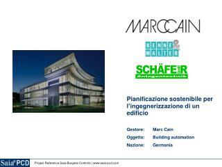 Pianificazione sostenibile per l'ingegnerizzazione di un edificio