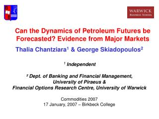 Can the Dynamics of Petroleum Futures be Forecasted? Evidence from Major Markets