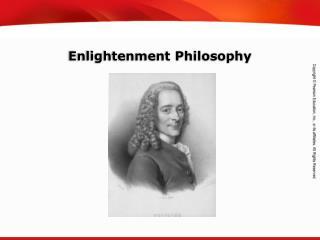 Enlightenment Philosophy