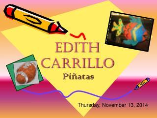 Edith Carrillo