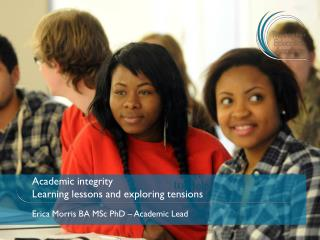 Academic integrity Learning lessons and exploring tensions