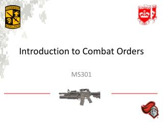Introduction to Combat Orders