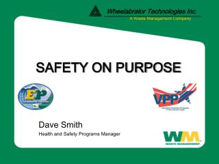 SAFETY ON PURPOSE
