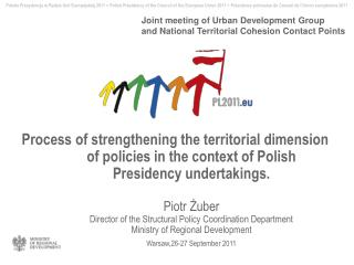 Joint meeting of Urban Development Group and  National Territorial Cohesion Contact Points