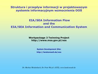 Struktura i przepływ informacji w projektowanym systemie informacyjnym wzmocnienia OOŚ