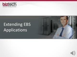 Extending EBS Applications