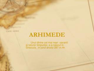 ARHIMEDE