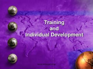 Training  and  Individual Development
