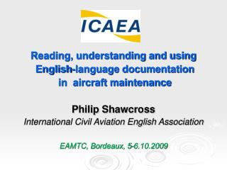 Reading, understanding and using  English-language documentation  in  aircraft maintenance