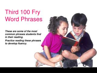 Third 100 Fry Word Phrases