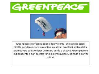 Si ispira ai principi della non violenza    Circa 3 milioni di sostenitori in tutto il mondo