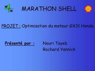 MARATHON SHELL
