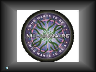 Science Millionaire brought to you by Sampson Elementary….maker of great problem solvers.