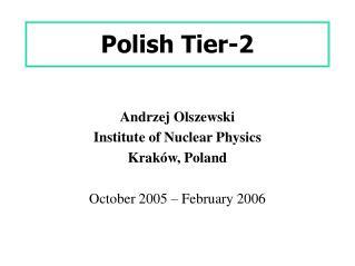 Polish Tier-2