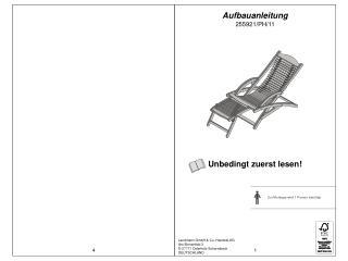 Aufbauanleitung 255921/PH/11