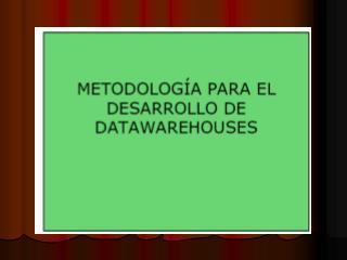 DESVENTAJAS DEL DATAWAREHOUSE