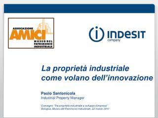 La proprietà industriale  come volano dell'innovazione