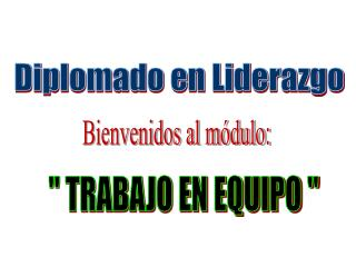 Diplomado en Liderazgo