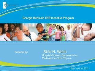 Georgia Medicaid EHR Incentive Program