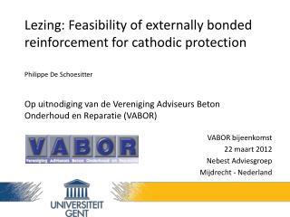 VABOR bijeenkomst  22 maart 2012 Nebest Adviesgroep Mijdrecht - Nederland