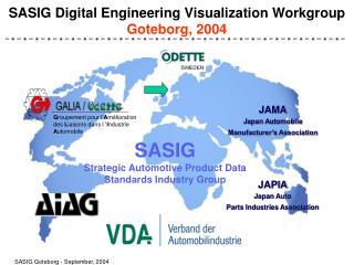 SASIG Digital Engineering Visualization Workgroup Goteborg, 2004