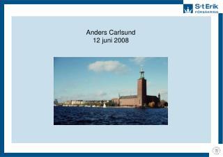 Anders Carlsund 12 juni 2008