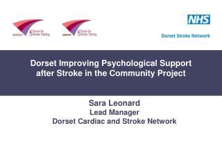 Dorset Improving Psychological Support after Stroke Project