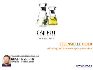 Essensielle oljer cajeput