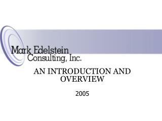 MARK EDELSTEIN CONSULTING, INC.