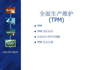 全面生产维护  ( TPM)