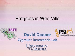Progress in Who-Ville