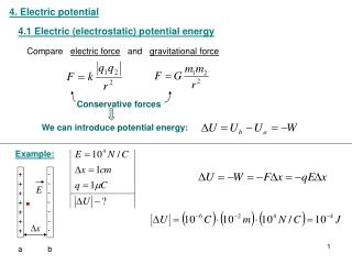 4. Electric potential