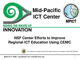 Mid-Pacific  ICT Center