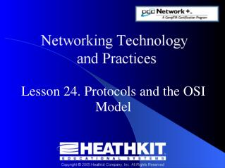 Lesson 24. Protocols and the OSI Model