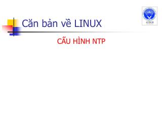 C?n b?n v? LINUX