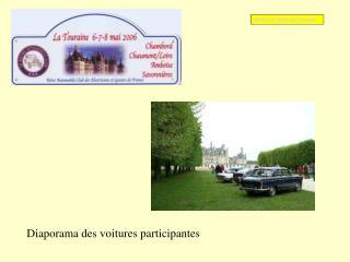 Diaporama des voitures participantes