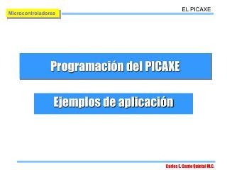 Programaci n del PICAXE