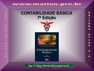 CONTABILIDADE BÁSICA 7ª Edição