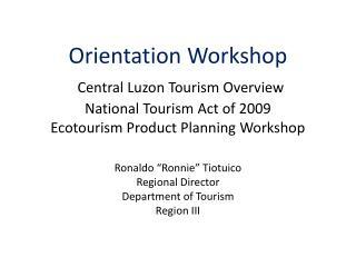 Department of Tourism Region III